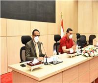 تنفيذ منظومة الرصد المرئي بمدينة مرسي مطروح