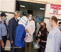 ريان تقوم بجولة مفاجئة لتفقد مستشفيات العزل الصحي بمحافظة القليوبية