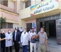 السكرتير العام المساعديتابعسير العمل بمستشفيات العزل الصحي بالبحيرة
