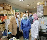 نائبة محافظ القاهرة تتفقد مستشفى المبرة بمنطقة مصر القديمة