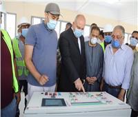 تخدم 400 ألف مواطن.. بدء التشغيل التجريبي لتوسعات محطة مياه دشنا