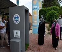 رئيس جامعة القناة تتابع الإجراءات الاحترازية ببوابة الجامعة
