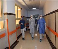 نائب محافظ الأقصر يتفقد مستشفى العزل بإسنا