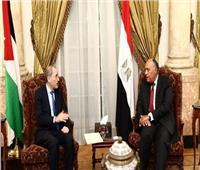 وزير الخارجية يبحث مع نظيره الأردني آخر تطورات على الساحة الفلسطينية