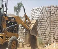 إزالة 40 حالة تعد على الأراضي الزراعية ومخالفات البناء بسوهاج