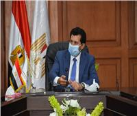 وزير الرياضة يترأس الإجتماع الاول لمجلس أمناء مدينة الشباب والرياضة لحي الأسمرات