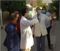 نائب محافظ القاهرة يتفقد مستشفى اليوم الواحد بالمرج