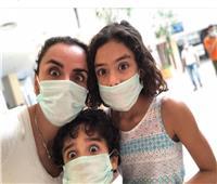 علا رشدي تحكي معانتها مع أولادها بسبب الحجر المنزلي