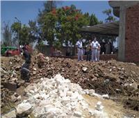 المنوفية: إزالة 390 حالة تعدٍ على الأراضي الزراعية وأملاك الدولة