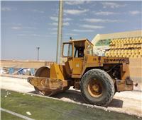 نادي الشيخ زايد يضع اللمسات النهائية لتطوير تراك كرة القدم