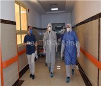 نائب محافظ الأقصر يتفقد مستشفى العزل بإسنا للتأكد من مستوى الخدمات