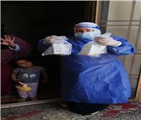 تسليم حقيبة الأدوية ومستلزمات الوقاية الشخصية بالعزل المنزلي بدمياط
