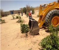 محافظ أسوان : إزالة 604 حالات تعدي على أملاك الدولة