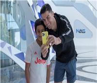 حمدان سعيد: رونالدو مثلي الأعلى وأتابع كل مبارياته