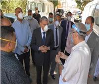 محافظ المنيا يتابع مستوى الخدمات الصحية بالمستشفيات المركزية والحميات