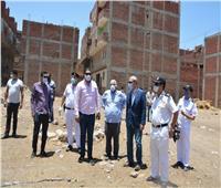 محافظ القليوبية يتابع الحملة المكبرة لإزالة المباني المخالفة بمدينة قليوب