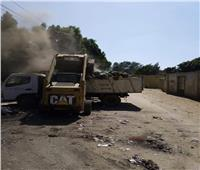 حملة نظافة مكبرة بقرية أجهور الكبرى بطوخ ورفع 60 طن مخلفات