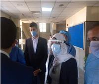 نائبا المحافظ يتفقدون مستشفى قليوب المركزي وشبين القناطر وبنها التعليمي