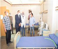 جامعة سوهاج تواصل  تجهيزات مبنى «العزل» بالمستشفى