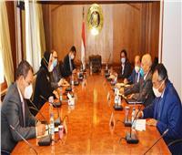 وزيرا الصناعة والإنتاج الحربي يناقشان زيادة الجودة والتنافسية للمنتجات المصرية