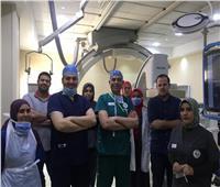 أطباء جامعة طنطا ينقذون مواطنة روسية من الموت