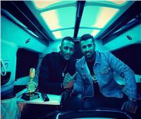 محمد سامي ينتهي من تصوير كليب «كورونا فيروس» مع رمضان