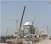 شاهد| التشطيبات النهائية في مبنى مجلس النواب بالعاصمة الجديدة