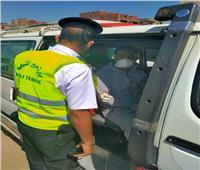 مرور المنوفية : سحب 534 رخصة قيادة لعدم إرتداء الكمامات الطبية
