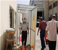 وزير القوى العاملة يتابع الإجراءات الاحترازية للعاملين عبر بوابة التعقيم