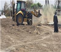 محافظة سوهاج: إزالة 21 حالة تعد على الاراضي الزراعية والبناء المخالف