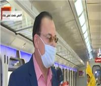 فيديو| السكة الحديد: تعقيم وتطهير القطارات على مدار 24 ساعة