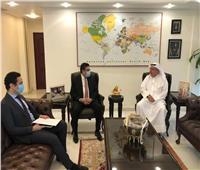 السفير المصري بالكويت يناقش الأوضاع الإفريقية مع مساعد وزير الخارجية الكويتي