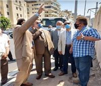 محافظ القاهرة يتفقد تطوير أعمال تطوير المنطقة الشرقية