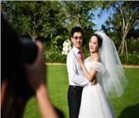 بالصور| الصين تُكرم محاربي كورونا بحفل زفاف جماعي