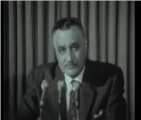 فيديو|في مثل هذا اليوم.. ذكرى خطاب تنحي جمال عبدالناصر عن الحكم