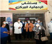 نائب محافظ البحيرة تقوم بزيارة مفاجئة لمستشفى الرحمانية وحميات دمنهور