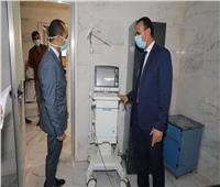 نائب محافظ سوهاج يوجه بسرعة تجهيز مستشفى الحميات لعزل مرضى كورونا