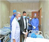 محافظ الدقهلية يشيد بإمكانيات وخدمات مستشفى الكبد المصري