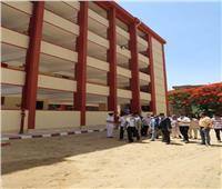 محافظ المنوفية يتفقد توسعات مدرسة منوف للتعليم بتكلفة 3.5 مليون جنيه
