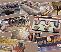 6 أعوام على حكم الرئيس| مسيرة انجازات وسلسلة اكتشافات أثرية