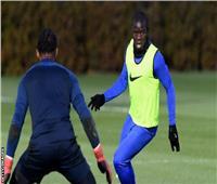 """""""كانتي"""" يعود إلى تدريبات تشيلسي استعدادا لعودة الدوري الإنجليزي"""