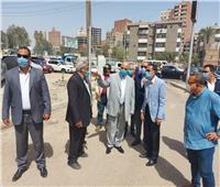 محافظ القاهرة يتفقد أعمال تطوير محور جسر السويس