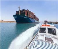 عبور ثاني أكبر سفينة حاويات في العالممن قناة السويس