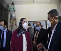 القباج تتفقد أنشطة وزارة التضامن الاجتماعي بحي الأسمرات
