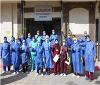 سكرتير محافظة الإسماعيلية يتفقد مستشفى الصدر بعد تخصيصها لعزل مصابى فيروس كورونا