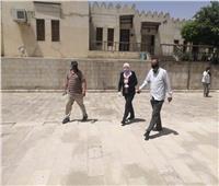 نائبة محافظ القاهرة تتفقد مسار العائلة المقدسة بمجمع الأديان في مصر القديمة