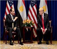 البيت الأبيض: ترامب أكد للسيسي التزام أمريكا باتفاق عادل بشأن سد النهضة