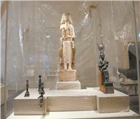 وزير السياحة يتفقد متحف الحضارة قبل نقل المومياوات الملكية