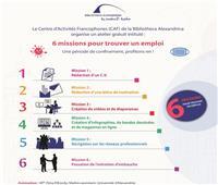 مكتبة الإسكندرية تنظم ورشة عمل بعنوان «6  خطوات للحصول على وظيفة»
