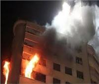 وفاة طفل في حريق شقة سكنية بالسويس